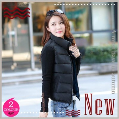 暖かい 秋冬 軽量 軽い ファッション 防寒 保温 大きいサイズ 中綿ベスト ダウンベスト きれいめ 大人気