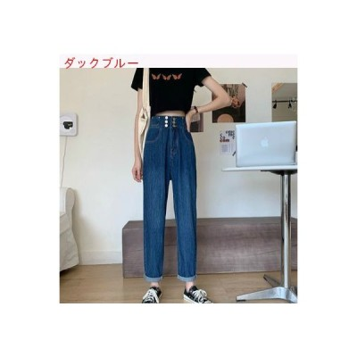 【送料無料】年 何でも似合う 着やせ 女性のジーンズ 夏 薄いスタイル ハイウエスト | 364331_A63408-3600971