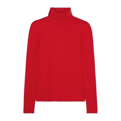 CALVIN KLEIN 205W39NYC T シャツ レッド L コットン 90% / ポリウレタン 10% T シャツ