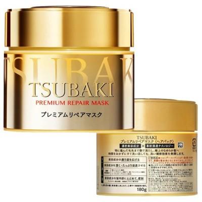 資生堂 TSUBAKI ツバキ プレミアムリペアマスク 180g SHISEIDO 正規品 TSUBAKI トリートメント、ヘアパック