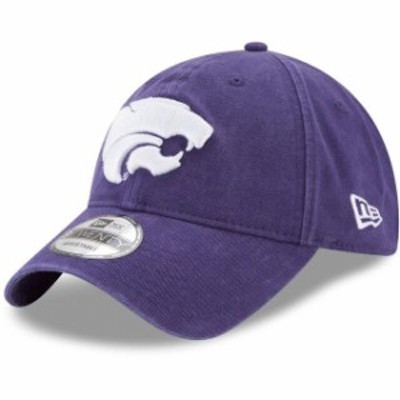 New Era ニュー エラ スポーツ用品  New Era Kansas State Wildcats Purple Primary Logo Core 9TWENTY Adjustable Hat