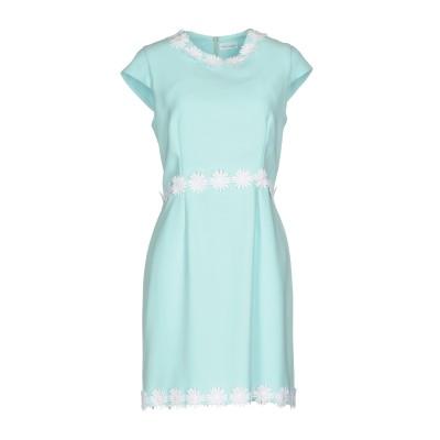 ALEX VIDAL ミニワンピース&ドレス スカイブルー 40 100% ポリエステル ミニワンピース&ドレス