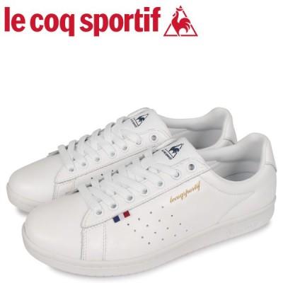 le coq sportif ルコック スポルティフ スニーカー メンズ レディース LA ローラン LA ROLAND LE ホワイト 白 QL1PJC18WH