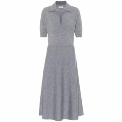 ガブリエラ ハースト Gabriela Hearst レディース ワンピース ミドル丈 ワンピース・ドレス Bourgeois wool-blend midi dress Heather Gr