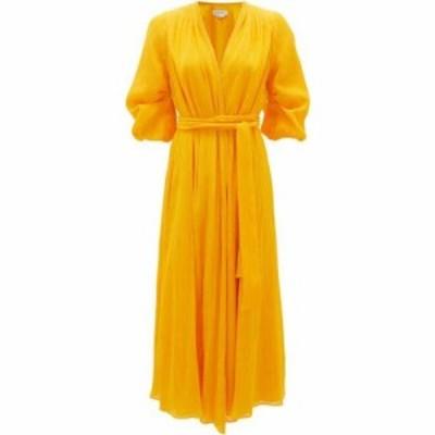 ガブリエラ ハースト Gabriela Hearst レディース ワンピース ラップドレス ワンピース・ドレス Demeter cotton-blend gauze wrap dress