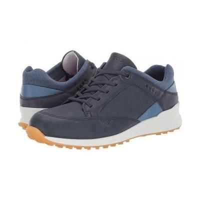 ECCO Golf エコー ゴルフ レディース 女性用 シューズ 靴 スニーカー 運動靴 Street Retro Hydromax(R) - Navy