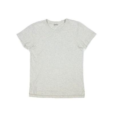 【中古】オーラリー AURALEE Tシャツ カットソー クルーネック 半袖 SEAMLESS CREW NECK TEE A00T04ST 1 ライトグレー系 ◎7 レディース 【ベクトル 古着】