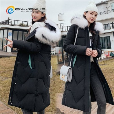 中綿コート レディース 中綿ジャケット 中綿ダウンジャケッ ロング丈 大きいサイズ オーバーサイズ ゆったり フェイクファー フード付き 冬服 アウター