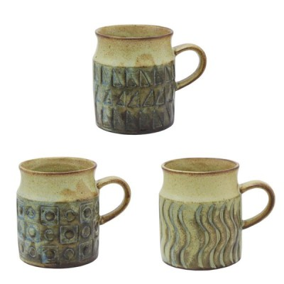 モールド マグ マグカップ 160ml 小さい 小ぶり アンティーク ヴィンテージ コーヒーカップ 北欧 瀬戸焼 陶器 日本製
