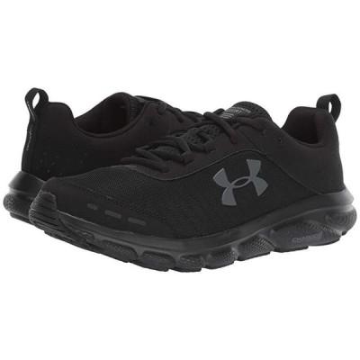 アンダー アーマー UA Charged Assert 8 メンズ スニーカー 靴 シューズ Black/Black/Black