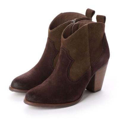 シューズラウンジ shoes lounge ショートブーツ 25K1304BR/ (ブラウン)