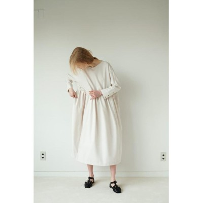 【マウジー】 WAIST SWITCH GATHER ドレス レディース IVOY3 1 MOUSSY