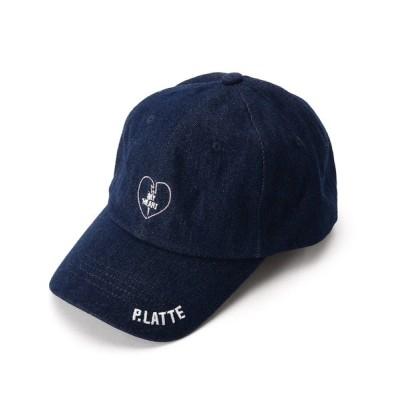 WORLD ONLINE STORE SELECT / コットンハートロゴキャップ KIDS 帽子 > キャップ