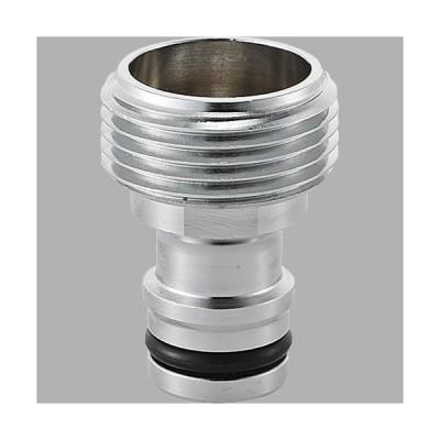 三栄水栓 金属製オネジニップル PL60-20-20