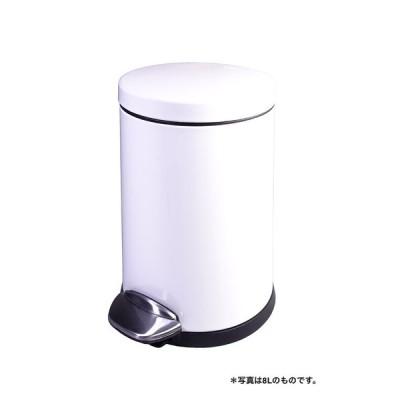 正規販売店 EKO  LUNA STEP BIN  ルナ ステップビン5L ホワイト 送料無料 EK9219P?5LWHホワイト