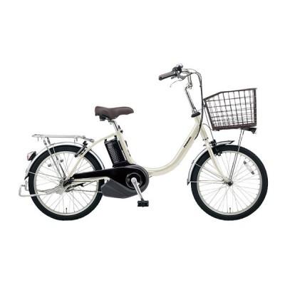 PANASONIC BE-ELL032-S ウォームシルバー ビビ・L・20 [電動アシスト自転車(20インチ・内装3段)] 電動自転車