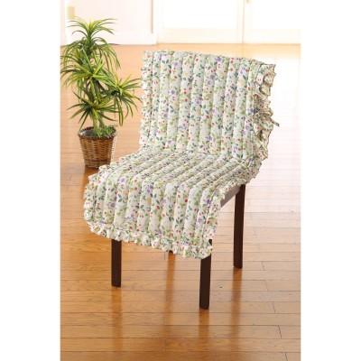 ポケット付フリル椅子カバー・1枚