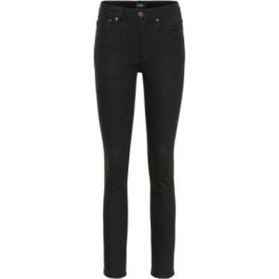 アーペーセー A.P.C. レディース ジーンズ・デニム ボトムス・パンツ High Standard mid-rise skinny jeans Noir