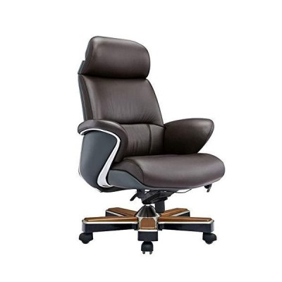 Boss Office Chair Computer Chair Office Chair Leather President Chair Comfortable Business Chair【並行輸入品】