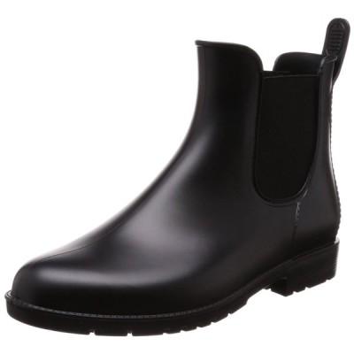 [マーレマーレデイリーマーケット] ブーツ レインサイドゴアショートブーツ レディース SUN71506 ブラック S/M/L表示 L(24.0~24.5 cm)