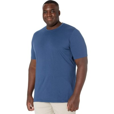 ジョニー ビッグ Johnny Bigg メンズ Tシャツ 大きいサイズ トップス Big & Tall Essential Crew Neck Tee Denim