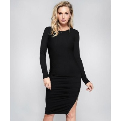 ドレス Marciano MACIE RUCHED ZIP DRESS