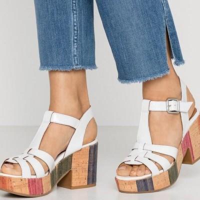 レディース サンダル BAHAMAS - High heeled sandals - blanco
