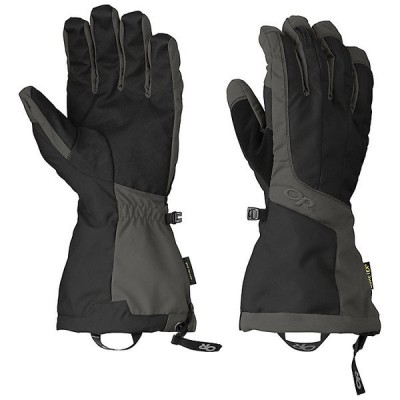 アウトドアリサーチ 手袋 メンズ アクセサリー Outdoor Research Men's Arete Glove Black / Charcoal