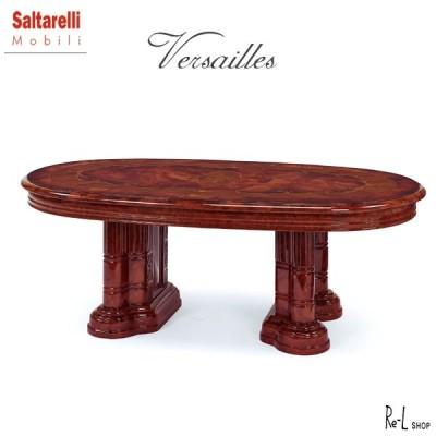 センターテーブル イタリア製 Versailles ヴェルサイユ SaltarelliMobili サルタレッリモビリ ブラウン SVEI-711-BR