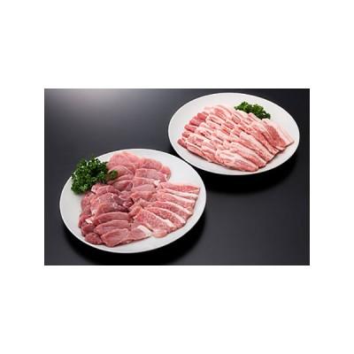 ふるさと納税 20-[5]山形県産豚モモ&バラ焼肉セット(計1000g) 山形県大石田町
