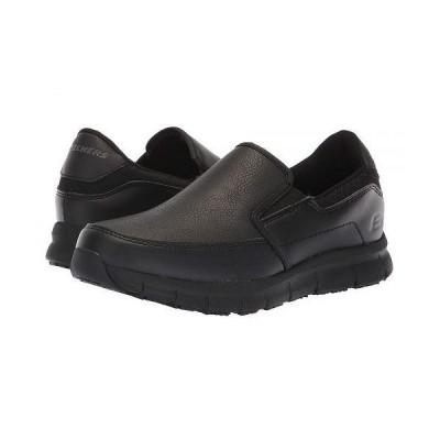 SKECHERS Work スケッチャーズ レディース 女性用 シューズ 靴 スニーカー 運動靴 Nampa - Annod - Black