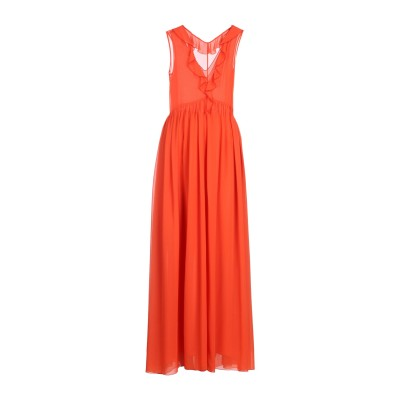 GOLD CASE ロングワンピース&ドレス コーラル 44 ポリエステル 100% ロングワンピース&ドレス