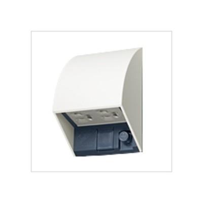 パナソニックエコソリューションズ スマート設置防水ダブルコンセント ホワイト W87×H126×D67mm WK4602WK 0