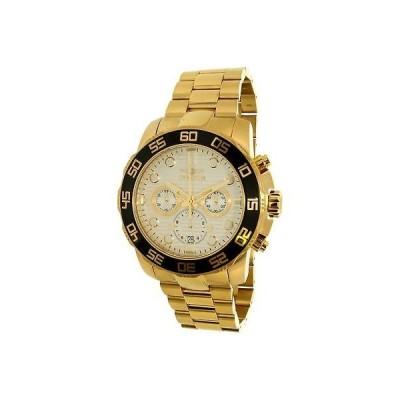 腕時計 インヴィクタ Invicta Men's Pro Diver 22229 Gold Stainless-Steel Plated Quartz Dress Watch