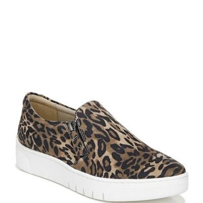 ナチュライザー レディース スニーカー シューズ Hawthorn Cheetah Print Fabric Zip Sneakers
