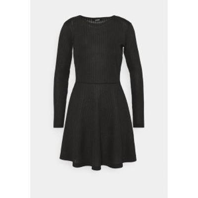 ジン レディース ワンピース トップス Day dress - black black