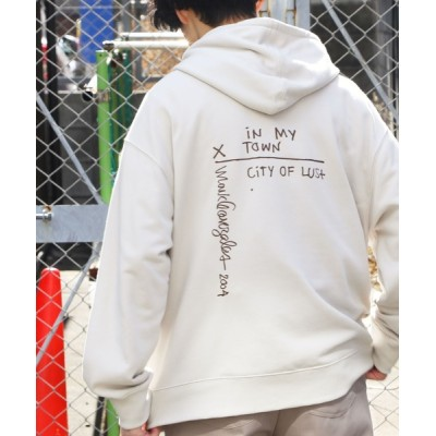 Air Tokyo / 【ユニセックスで着用可能】 Mark Gonzalez / マークゴンザレス 別注 コラボ オーバーサイズ バギー パーカー MEN トップス > パーカー