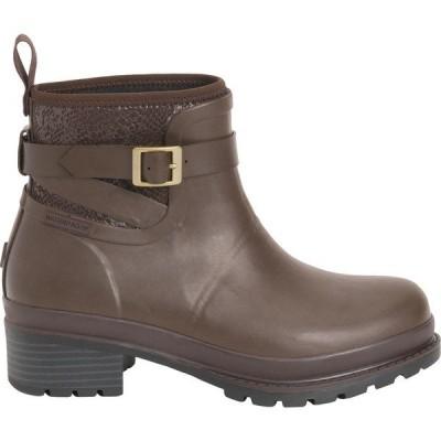 ムックブーツ ブーツ&レインブーツ シューズ レディース Muck Boots Women's Liberty Ankle Rubber Boots Brown