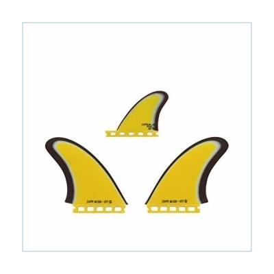 Captain Fin Co. - Chippa Wilson + Neal Purchase Jr. Twin Especial -Twin Fin + Trailer Fin (Single Tab) Yellow並行輸入品