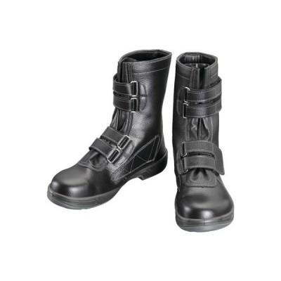 シモン 安全靴[長編上靴マジック式]SS38黒29.0cm SS3829.0