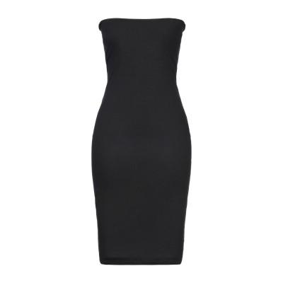 CRISTINAEFFE ミニワンピース&ドレス ブラック 44 レーヨン 95% / ポリウレタン 5% ミニワンピース&ドレス