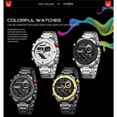 腕時計 メンズ 海外ブランド クオーツ カジュアルウォッチ 防水 プレゼント