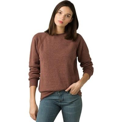 (取寄)プラナ レディース コーズィ アップ トレーナー Prana Women Cozy Up Sweatshirt Flannel Heather