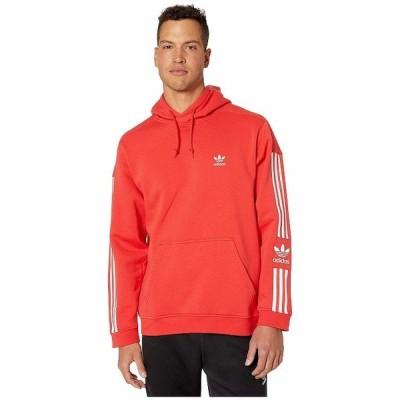 (取寄)アディダス オリジナルス メンズ ロック アップパーカー adidas originals Men's adidas Originals Lock Up Hoodie Lush Red