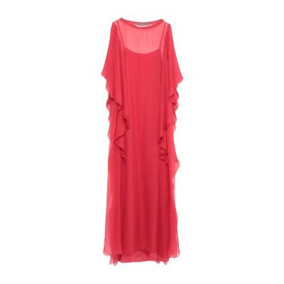 アルベルタ フェレッティ ALBERTA FERRETTI ロングワンピース&ドレス レッド 40 シルク 100% ロングワンピース&ドレス
