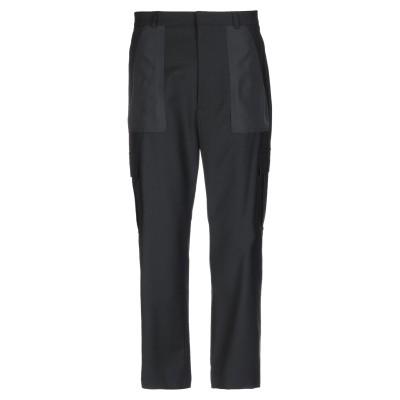 LES HOMMES パンツ ブラック 48 ポリエステル 54% / バージンウール 44% / ポリウレタン 2% パンツ
