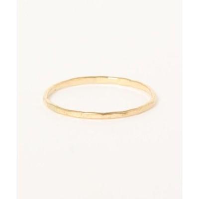 指輪 【V&SSS】号数限定 くしゅくしゅ槌目 ring 13号