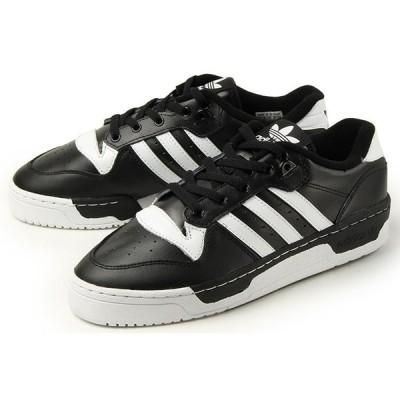 adidas(アディダス) RIVALRY LOW(ライバルリー ロー) EG8063 ブラック/ホワイト