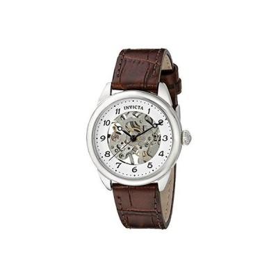 インヴィクタ 腕時計 Invicta 17198 レディース Specialty アナログ ディスプレイ Mechanical Hand Wind ブラウン 腕時計