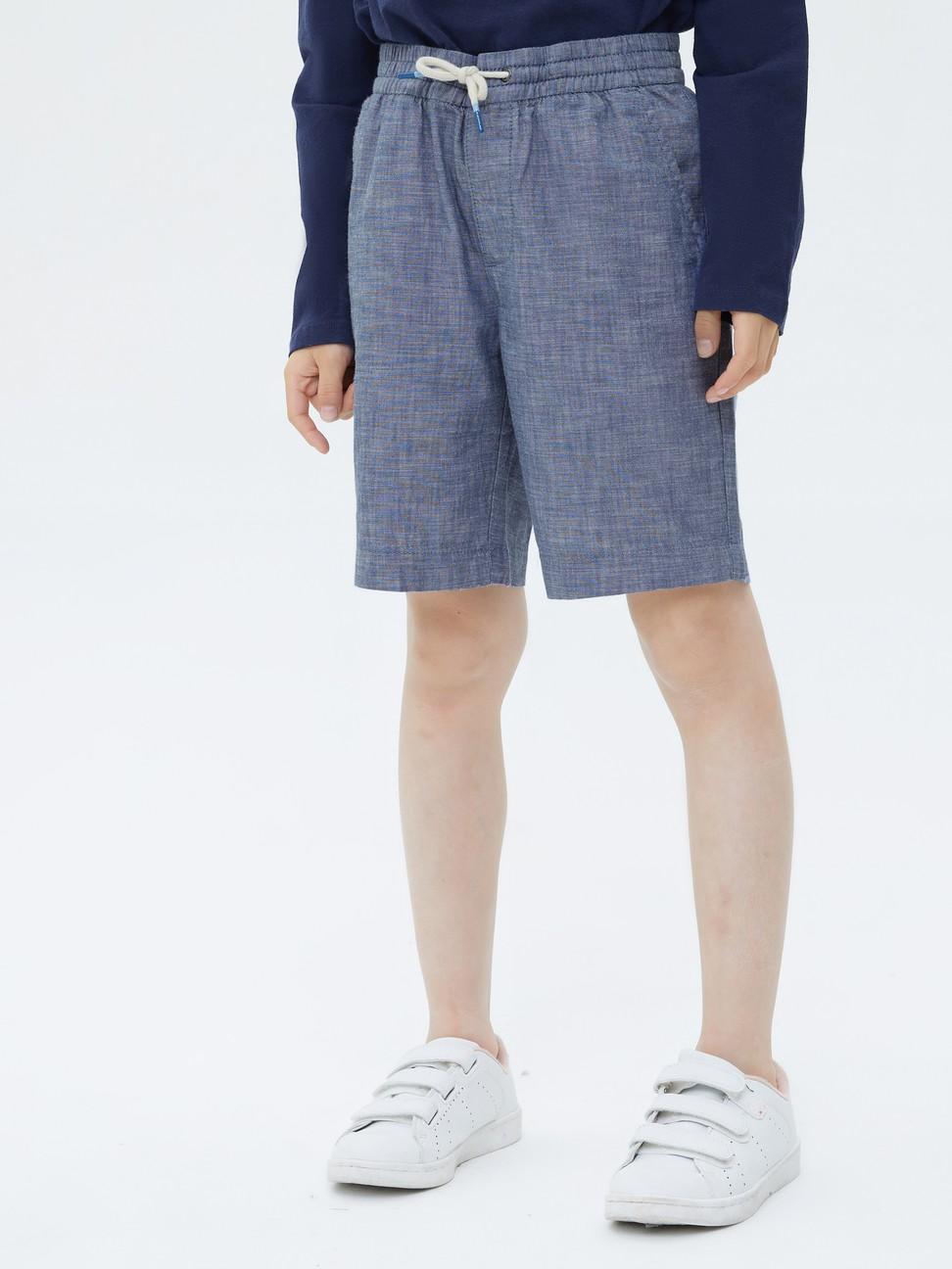 男童 柔軟舒適仿牛仔布短褲